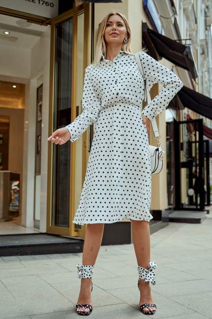 Женское платье AVEMOD AV 979, белый