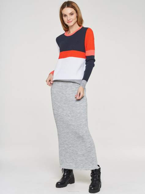 Женская юбка VAY 192-5003, серый