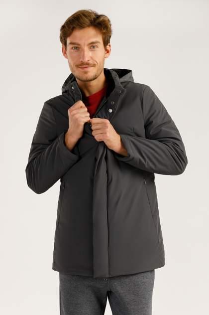 Зимняя куртка мужская Finn Flare A19-21034 темно-серая S