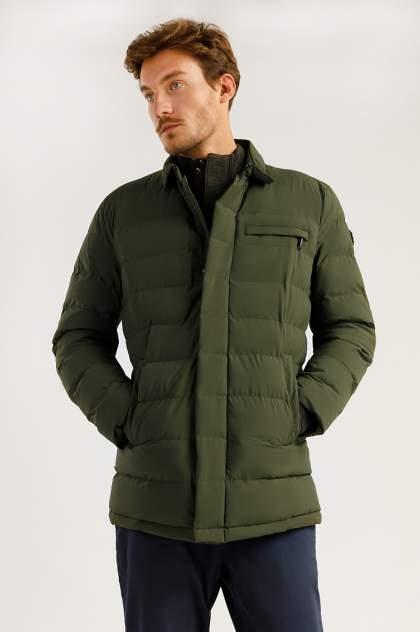 Зимняя куртка мужская Finn Flare A19-21035 темно-зеленая M