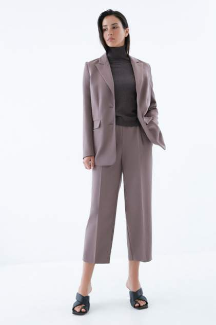 Женские брюки ZARINA 328233733, коричневый
