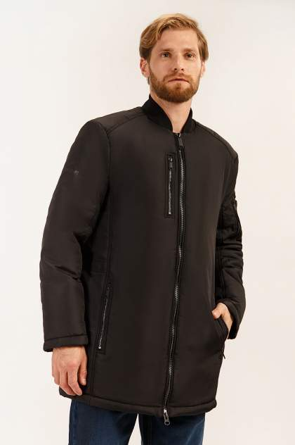 Зимняя куртка мужская Finn Flare A19-42001 черная XXL