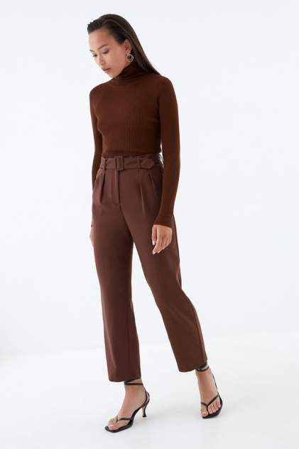 Брюки женские ZARINA 329225705 коричневые 96