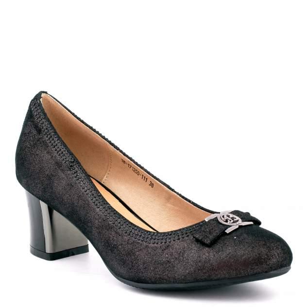 Туфли женские PM SHOES 18-171259-111, черный