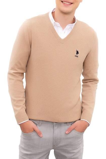 Пуловер мужской U.S. POLO Assn. G081SZ0TK0TCDUNI-BSK20 бежевый 54