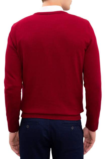 Пуловер мужской U.S. POLO Assn. G081SZ0TK0TCDUNI-BSK20 красный 46