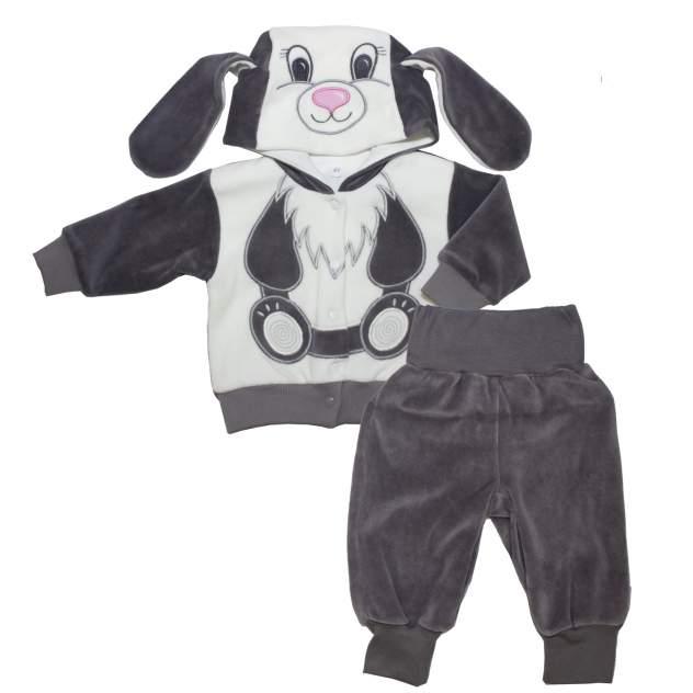 Комплект одежды Осьминожка, цв. серый
