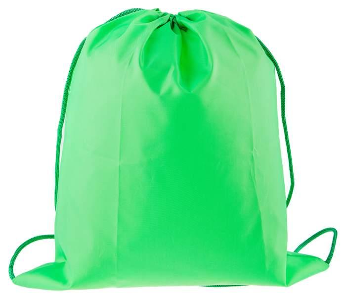 Мешок для обуви Проф-Пресс Зеленый 330x400 мм