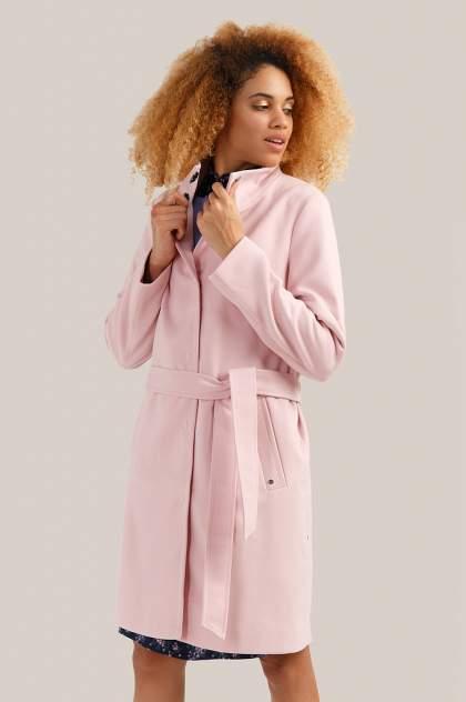 Пальто женское Finn Flare B19-11076 розовое XXL