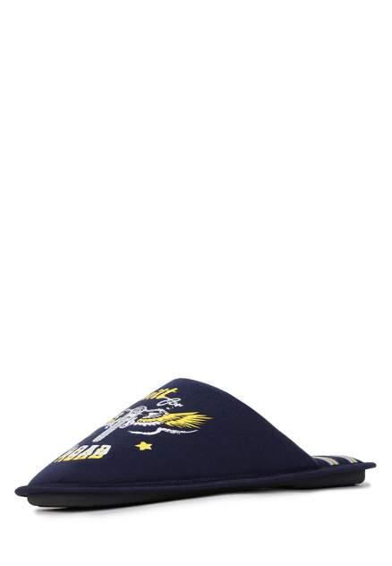 Домашние тапочки мужские T.Taccardi CJI20AW-27 синие 45 RU