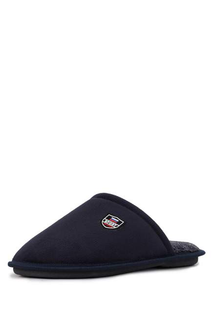 Домашние тапочки мужские T.Taccardi CJI20AW-24 синие 43 RU
