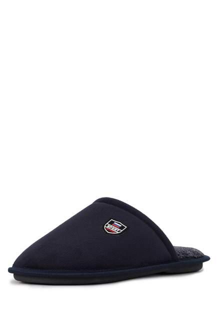 Домашние тапочки мужские T.Taccardi CJI20AW-24 синие 40 RU