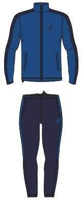 Спортивный костюм Asics Lined, синий, XL INT