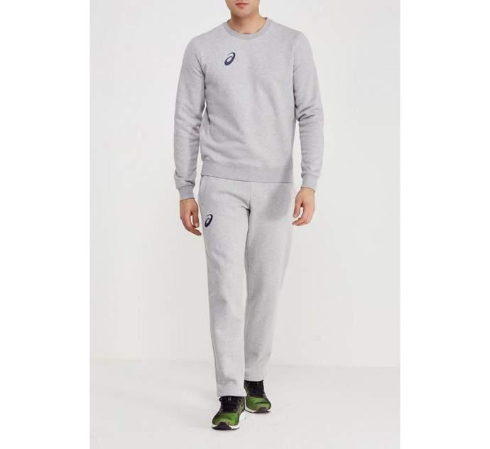 Мужской костюм Asics Man Fleece Suit, серый