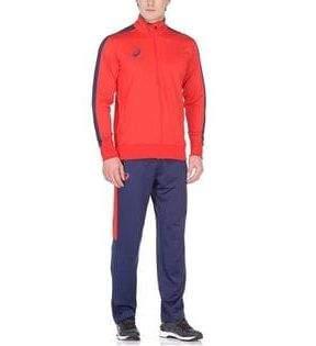 Спортивный костюм Asics Man Poly Suit, красный, L INT
