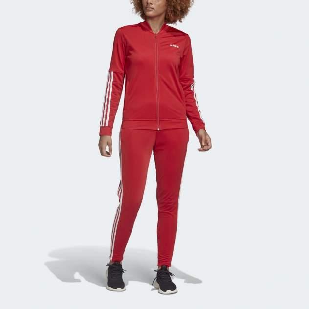 Спортивный костюм Adidas Back 2 Basics 3-Stripes, красный, XS INT