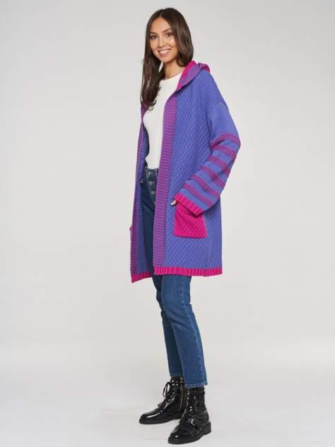 Кардиган женский BE YOU BY192-14018, фиолетовый