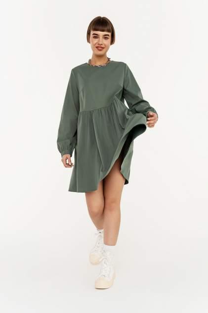 Платье женское befree 2031673510 зеленое M