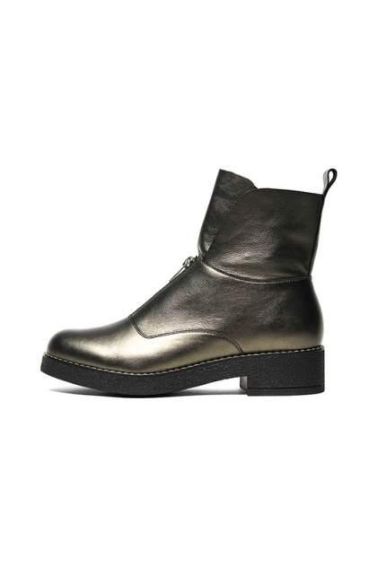 Ботинки женские Ralf Ringer 628206 золотистые 38 RU