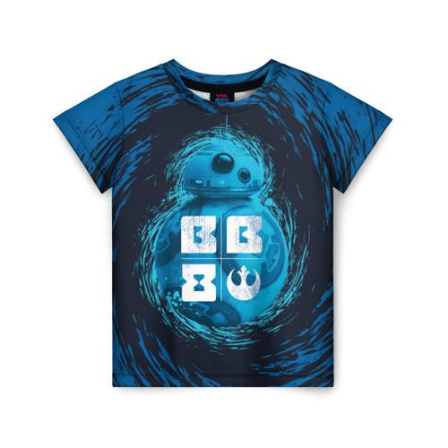 Детская футболка ВсеМайки 3D BB-8, размер 86