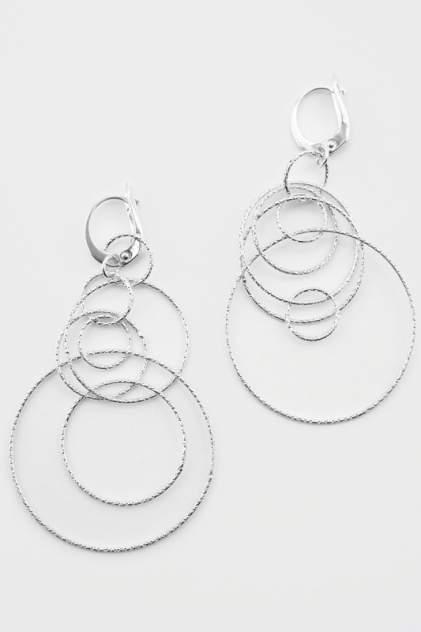 Серьги женские из серебра BELIEF 60-317, без вставки