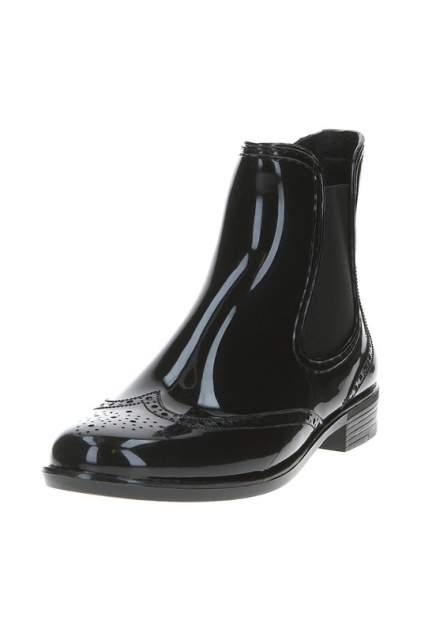 Женские резиновые резиновые ботинки MonAmi 631, черный