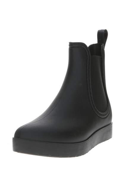 Женские резиновые резиновые ботинки MonAmi 629, черный