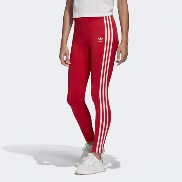 Женские тайтсы Adidas Adicolor 3-Stripes Legging FM3283, красный, 30 DE