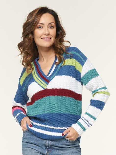 Пуловер женский BE YOU BY202-40079 синий 48