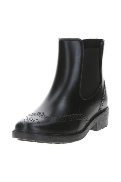 Женские резиновые резиновые ботинки MonAmi 528, черный