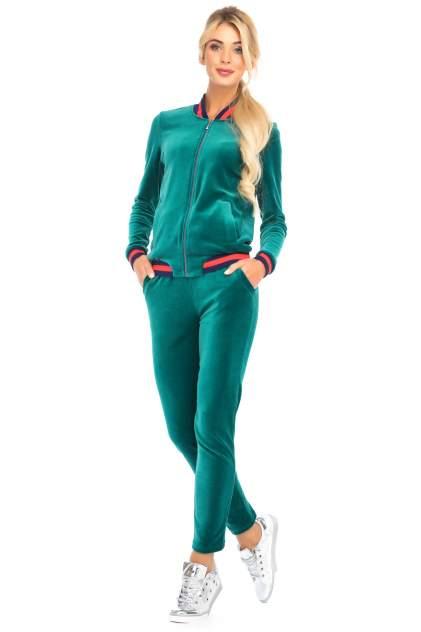 Спортивный костюм Peche Monnaie Emeraude,зеленый