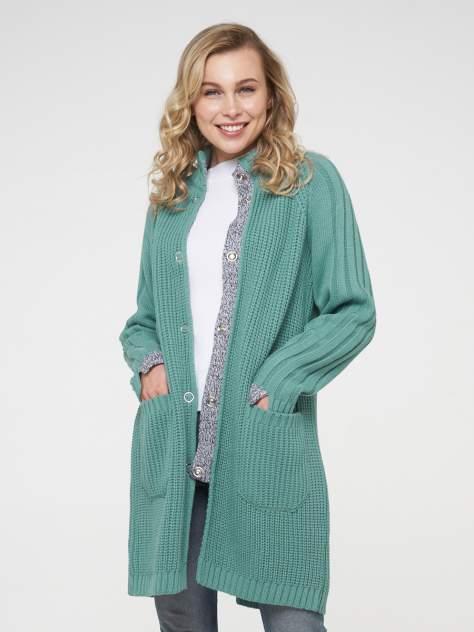 Кардиган женский VAY 202-1645 зеленый 54
