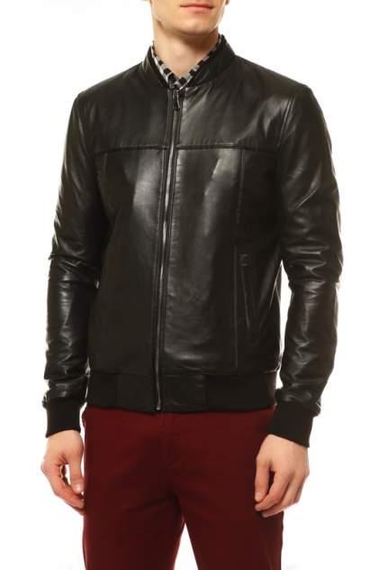 Кожаная куртка мужская VITTORIO VENETO 106 черная 54
