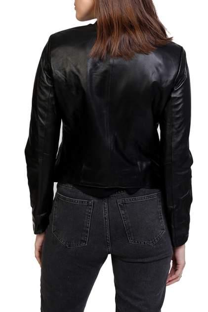 Кожаная куртка женская EXPO FUR S.7 черная 40