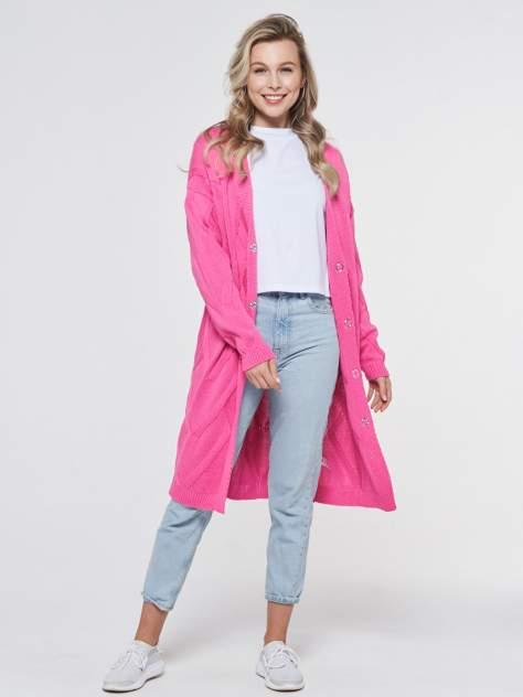 Кардиган женский VAY 201-1628 розовый 48