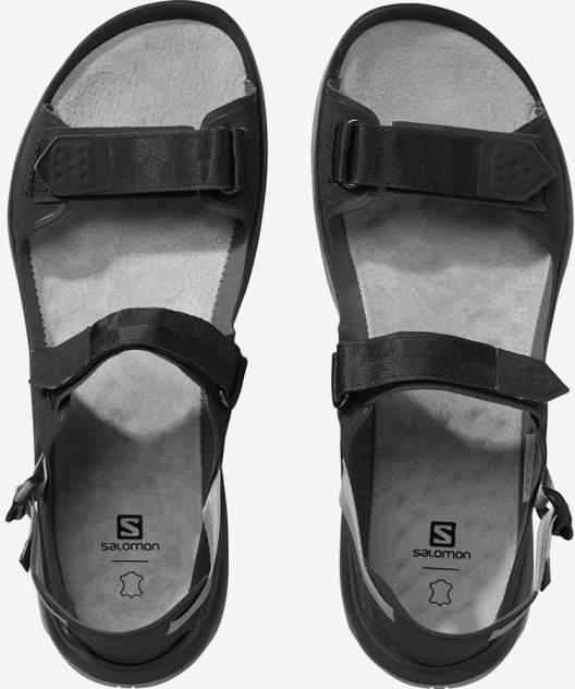 Сандалии Salomon Tech Sandal Feel, black/flint/black, 9.5 UK