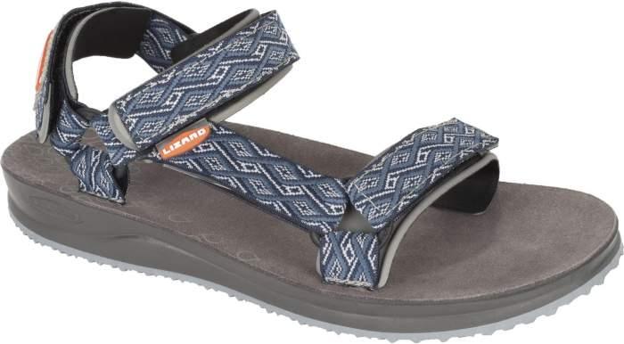 Мужские сандалии Lizard Voda, серый, синий