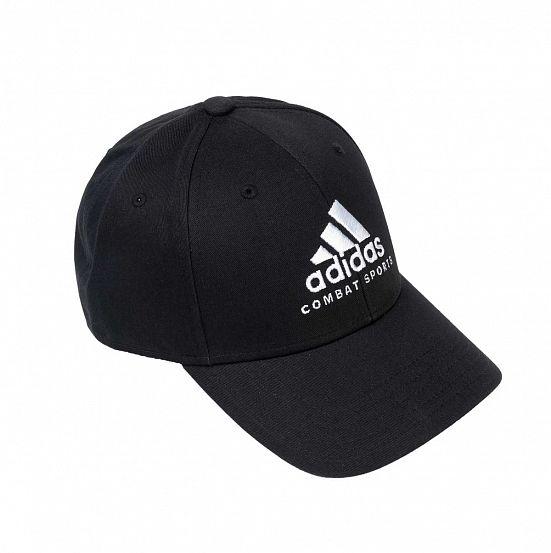 Бейсболка Baseball Cap Combat Sports черно-белая (58-60см)