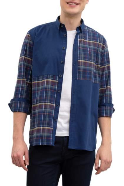 Рубашка мужская U.S. POLO Assn. G081SZ0040MOSSA синяя L