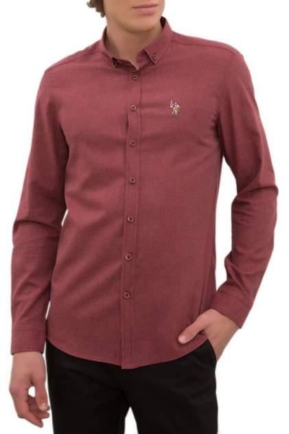 Рубашка мужская U.S. POLO Assn. G081SZ0040AKIS19K красная S