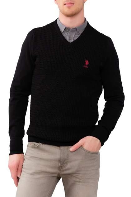 Пуловер мужской U.S. POLO Assn. G081GL0TK0GROVSK9 черный 54