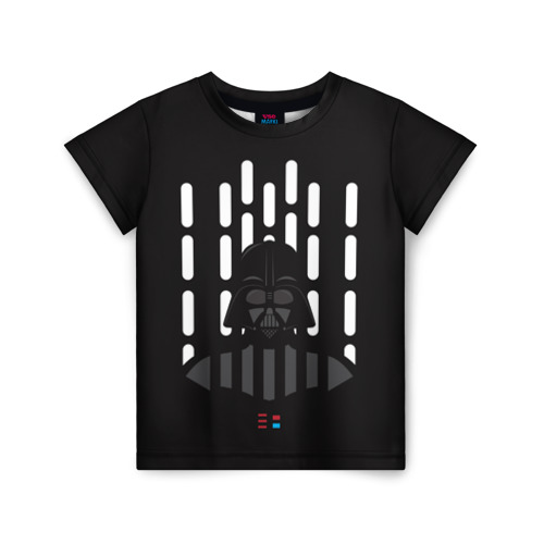 Детская футболка ВсеМайки 3D Дарт Вейдер, размер 86