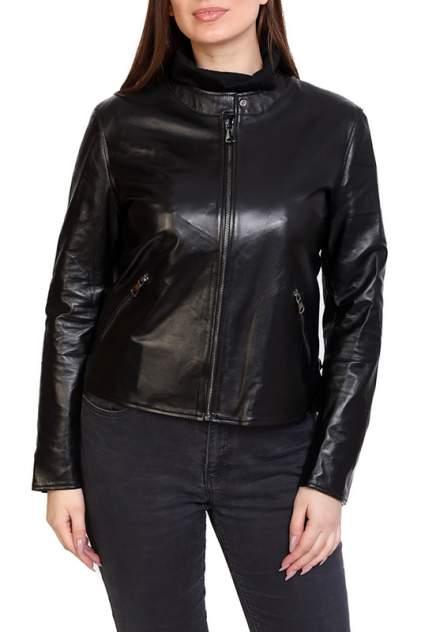 Кожаная куртка женская EXPO FUR S.46 черная 38
