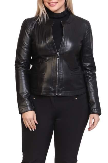 Кожаная куртка женская EXPO FUR S.12 черная 38