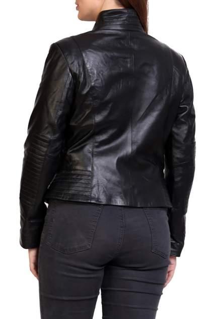 Кожаная куртка женская EXPO FUR S.11 черная 38