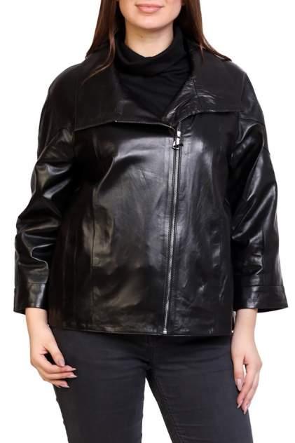 Кожаная куртка женская EXPO FUR S.14 черная 38