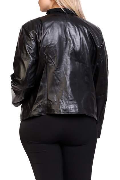 Кожаная куртка женская EXPO FUR S.62 черная 38