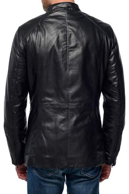 Кожаная куртка мужская MAURITIUS CASON черная 52