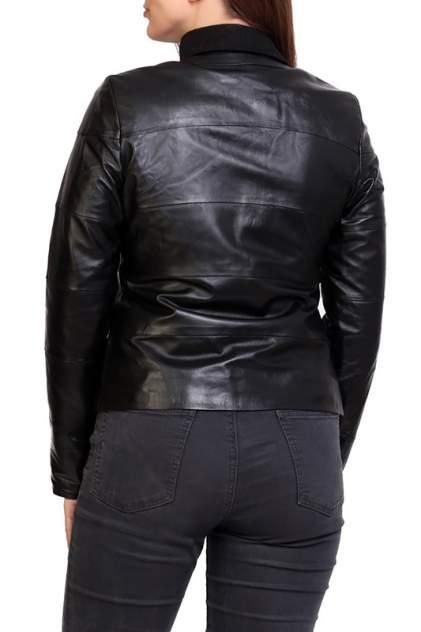 Кожаная куртка женская EXPO FUR S.106 черная 40