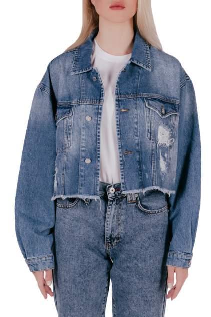 Джинсовая куртка женская JUST CASTA F4295С35 синяя M